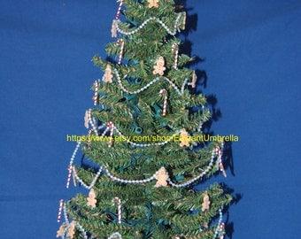 Pre-lit tabletop Christmas tree Design 17