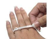 Multi-Sizer Adjustable Ring Finger Gauge