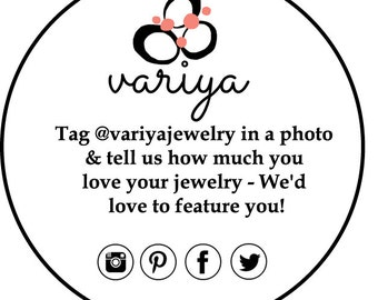 Custom listing for Variya - 200 stickers