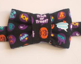 Halloween Kawaii Print Bow Tie for Cats ; Halloween Pet Bow Tie