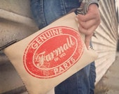 Farmall CASE IH - Quality Tractors - Canvas & Leather Clutch - Small  ... Selina Vaughan