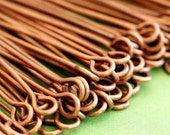 100pcs 2 inch Antique Copper Eye Pins FINDING
