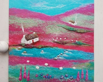 Stepping Stones to The Bothy's Printed Greetings Card