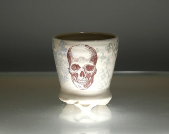 Large Shot Glass - Barware - Skull