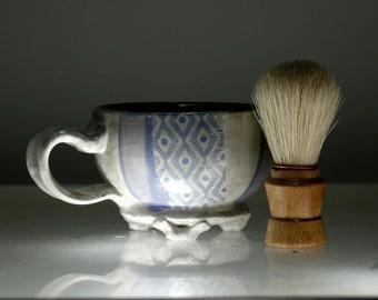 Personalized Shaving Mug - Custom Shaving Mug - Heirloom Gift for Men - NLB
