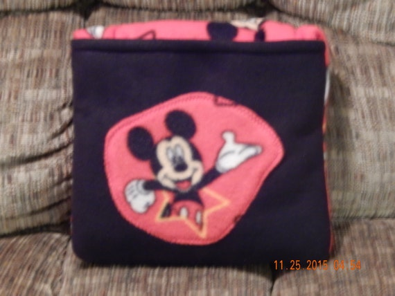 Quillow Blanket That Folds Into A Pillow Mickey Mouse