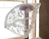 Antique Lace Baby Christening Cap