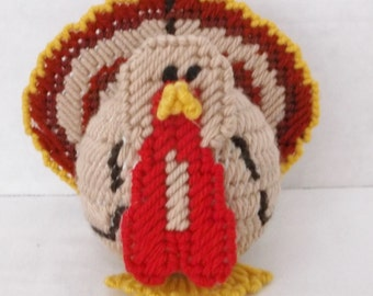 Small Plastic Canvas Turkey #F/H-122
