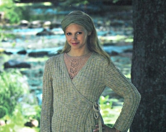 Sweater Knitting Patterns elsebeth lavold Designer's Choice Book 11 The Sunnyside Collection Women Cardigan Hat Paper Original NOT a PDF