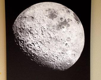 Moon Screenprint 12x18