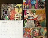 2016 Art and Style calendar by kecia deveney