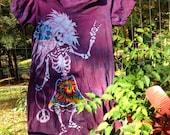 Batik Rosebud Dress  L/XL