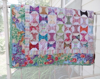 Patchwork Quilt, Spool Jungle