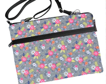 11 inch MacBook Air Sleeve Case / Bag / Shoulder Bag Zipper Padded /FAST SHIPPING/Washable/ Dutch Floral Fabric