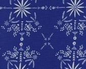 Cotton + Steel Paper Bandana - bandana white blue - 50cm