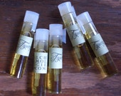Topiary Natural Perfume Sample, Trial, Travel Size, All Natural Fragrance, Handcrafted, Small Batch