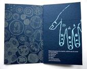 Letterpress and Silkscreen Zine: Milky Seas