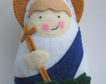 Saint Margaret of Antioch....Felt Softie