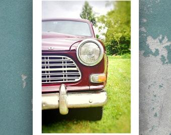 Vintage Volvo Photo // Classic Car Photo // Volvo 122 Station Wagon // 1967 Wagon // Urban Decor