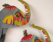 Ceremonial Elephant / Articulated Decoration / Hinged Beasts Series