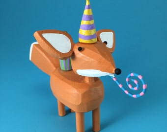 birthday fox