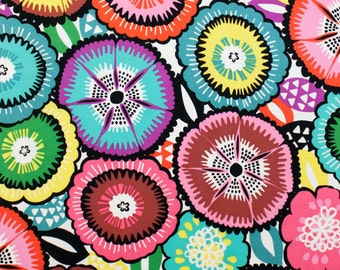 Alexander Henry FABRIC - Folklorico - Catrina Floral -  Natural / Bright