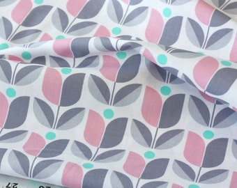 20% Off! Joel Dewberry FABRIC - True Colors - Tulip - Gray