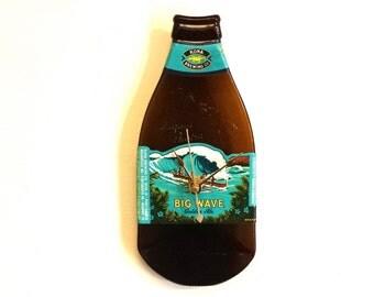 Melted Bottle Clock-Big Wave Golden Ale ,Kona Brewing Co.