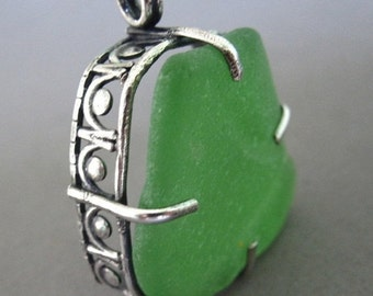 SALE Sea Glass Pendant