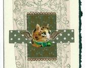 Pet Sympathy Card Cat