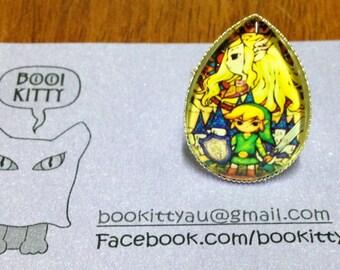 Legend of Zelda - Link Adjustable Ring