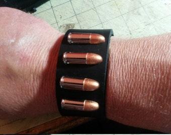 9 MM Leather Wristcuff