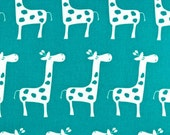 Changing Pad Cover - Changing Pad - Crib Sheet - Baby Shower Gift - Giraffe Changing Pad Cover - Turquoise Giraffe