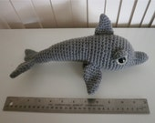 Crochet Dolphin Amigurumi Stuffed Toy
