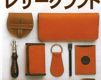 Hand Sewing Leather Craft Book - Japanese Craft Book
