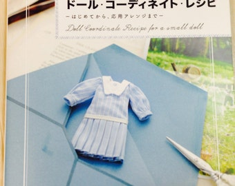 Dolly Dolly DOLL COORDINATE RECIPE for Small Dolls - Japanese Craft Book