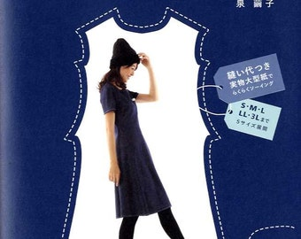Pretty Dresses that make you look Slim -  Japanese Craft Book