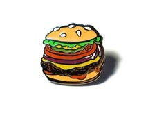 The Studio JFISH Burger Lapel Pin *ECCC 2016 Pre-Order*