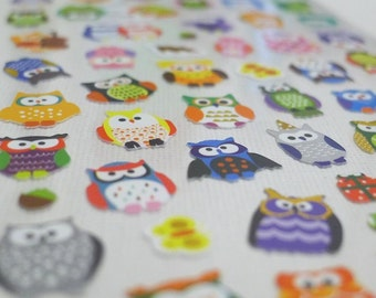 Cute Korean Stickers - Animal Friends - Owl (1325)