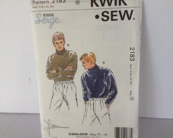 NEW Kwik Sew Patterns 2183 Size S-M-L-XL-XXL