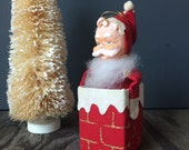 1950s Santa Decoration - Made in Japan