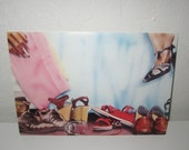 Paper Moon Card - Shoe Scene by Brian Zick - Vintage 1980's Design by Paper Moon Graphics Los Angeles