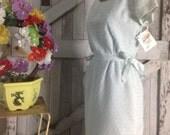 1950s day dress 50s cotton dress size small medium Vintage dress