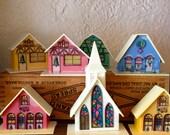 Vintage Christmas Village