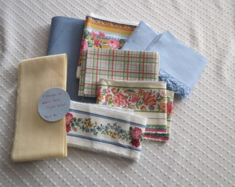 Fabric Trim Vera Bradley borders and coordinating strips. 11 yards total. Project pack #1