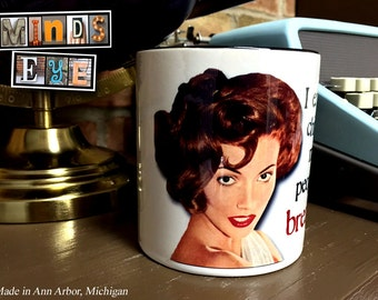 I eat perky chipper morning people for breakfast- COFFEE MUG