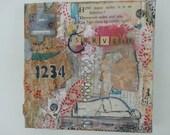 Survive Collage on Canvas