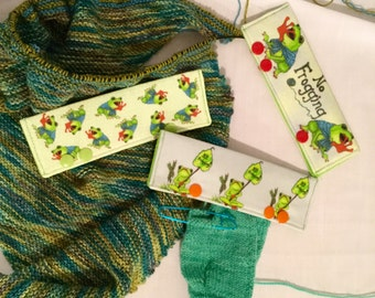 Stitch Hoodies, set of 3, for needles 5-6 inches long AND circular needles!