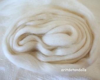 Baby camel wool, natural animal wool fibers, 1.2 oz/35gram