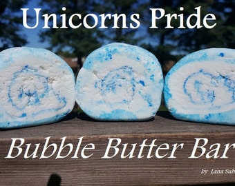 Solid Bubble Butter Roll Recipe DIY Bath Glycerin and Starch Free